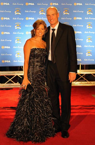Jim and Tabitha Furyk.