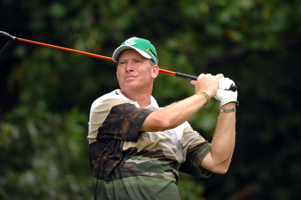 Name: Woody Austin                           Age: 43                           PGA Tour victories: 3                            Major Victories: 0                           Previous teams: None                           Records: None