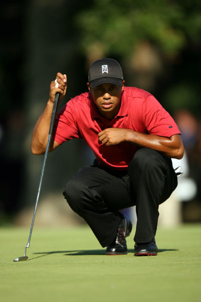 Name: Tiger Woods                           Age: 31                           PGA Tour victories: 61                           Major Victories: 13                           Previous teams: Presidents Cup (1998, 2000, 2003, 2005); Ryder Cup (1997, 1999, 2002, 2004, 2006)                           Record: Presidents Cup (10-9-1 overall: 2-6-0 Four-Ball, 5-2-1 Foursomes, 3-1-0 Singles); Ryder Cup (10-13-2 overall: 4-6-0 Four-Ball, 3-6-1 Foursomes, 3-1-1 Singles)