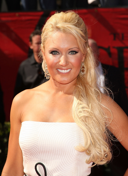Natalie Gulbis at the 2009 ESPY Awards.