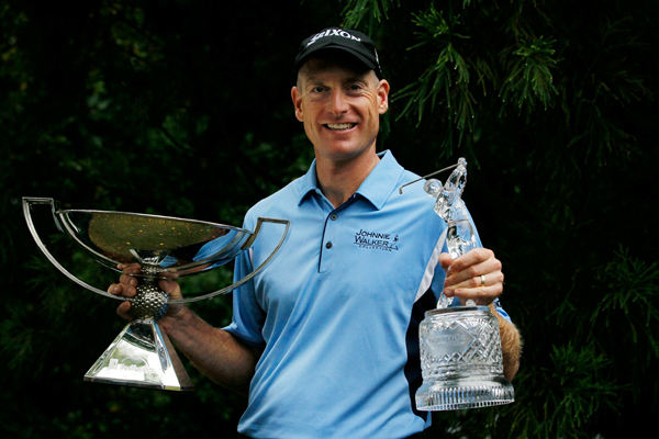 The Tour Championship was Furyk's third win of the year. By claiming the FedEx Cup title as well, Furyk made an emphatic argument for Player of the Year honors.