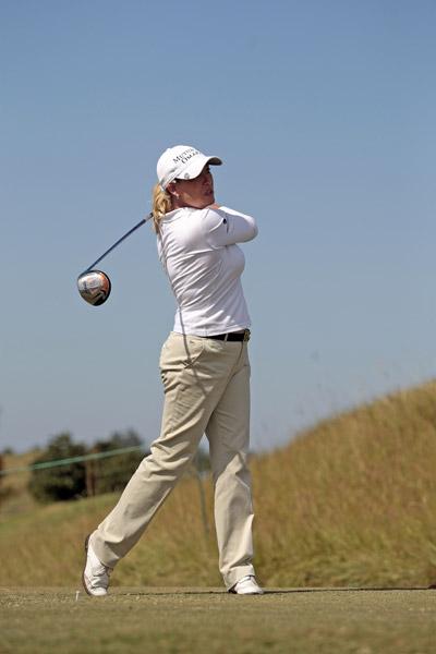Cristie Kerr shot a one-under 71.