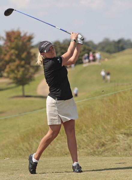Cristie Kerr shot a two-under 70.