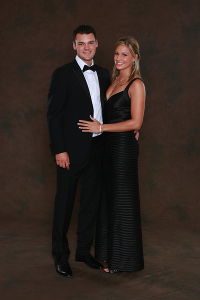 Martin Kaymer and Allison Micheletti.