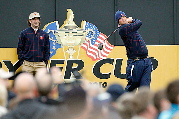are both playing in their first Ryder Cup.