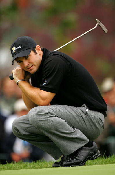 Trevor Immelman                       Overall record: 0-3-1                       Points earned: 0.5                       Grade: D                       After an injury-plagued season, Immelman was not the same player who won the 2006 Western Open. Paired with the free-swinging Rory Sabbatini all week, he needed to be Mr. Steady, but he couldn't hit enough fairways and greens. The duo was defeated three times and blew a 2-up lead through 15 holes in Friday's four-ball match to earn just a half point. A completely healthy Immelman, with more experience, may someday be a solid Presidents Cup player — but he's not there yet.                                              Click here to see the report cards for the U.S. players