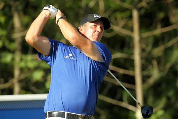moved into contention with a 6-under 65.