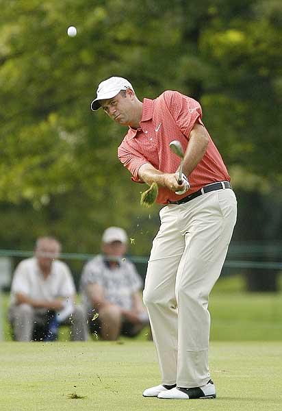 Stewart Cink, who had only one bogey on the par-3 second hole, finished at five under par.