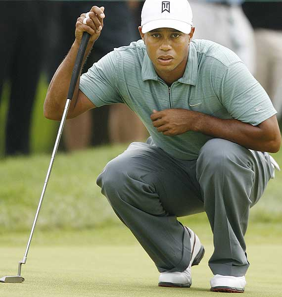 Woods also posted back-to-back birdies on his first two holes. He finished at four under par.