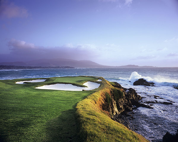 Best Walks                                              1. Cypress Point, California                       2. Royal County Down, Northern Ireland                       3. Pebble Beach, California                       Thirty-six courses were nominated, with Cypress dominating again. The remote Links at Cape Breton Highlands, New South Wales, Pacific Dunes, The Old Course at St. Andrews, Pine Valley and Fishers Island rounded out the top 10.                       Left: Pebble Beach