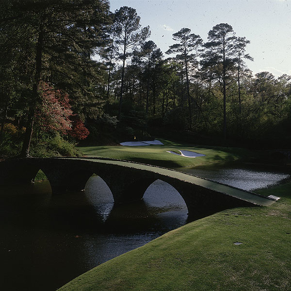 Best Hole to Earn Bragging Rights Via an Eagle or Ace                        1. Cypress Point #16, California                       2. Augusta National #12, Georgia                       3. TPC Sawgrass (Stadium), #17, Florida                       Twenty-five holes received votes, 13 of them with multiple nominations. Highest rated among the par-4s and 5s was Pebble Beach, #18, which placed fourth and Augusta National, #13, which placed fifth.                       Left: Augusta National