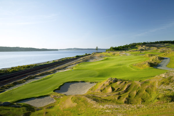 Making the Grade                       From a one-year-old phenom to a 111-year-old veteran, here are the new courses among the 2008 Top 100 You Can Play                                              No. 8                       Chambers Bay Golf Course                                              Having been named the site of the 2015 U.S. Open,                       Chambers Bay doesn't suffer from a lack of accolades,                       but this spiritual cousin to Ballybunion does                       suffer from misconceptions.                                               First, unlike Bandon Dunes, which can be challenging to get to, Chambers                       Bay is practically a suburban park course, just minutes                       from downtown Tacoma and 45 minutes from                       Seattle-Tacoma Airport.                                               Second, don't let the tips yardage of 7,585 bother you: the slope from the back                       tees is only 135, so while this walking-only track will                       test your hamstrings, you'll find it tough to lose a                       ball, which might be the true genius of the design.                                              Third, for anyone who has a preconceived notion                       of what a Robert Trent Jones II design is supposed                       to look like, forget it. Chambers Bay is a true collaboration                       of the RTJ II team — Bruce Charlton, Jay Blasi                       and Jones himself — and the course is a strategic                       masterpiece with wild elevation changes, split fairways,                       enormous dunes, tattered-edge bunkers and                       stunning scenery. We can't wait for the 2015 Open.