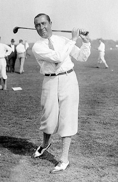 Walter Hagen                                              If Samuel Ryder was the instigator of the Ryder Cup, the Haig and his movie-star appeal gave it the gloss and glitter it needed. One year, he didn't like the quality of the uniforms the Yanks were supposed to wear, so he had his tailor fit the team with new duds. His 7-1-1 record speaks for itself.