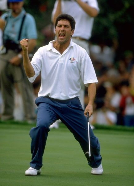Jose Maria Olazabal                                              I can't captain Seve without the other half of the Spanish Armada. Ballesteros and Olazabal had an incredible chemistry together. And with a sterling career record of 18-8-5, Ollie was no Garfunkel to Seve's Simon--he's an all-time Ryder Cup great.