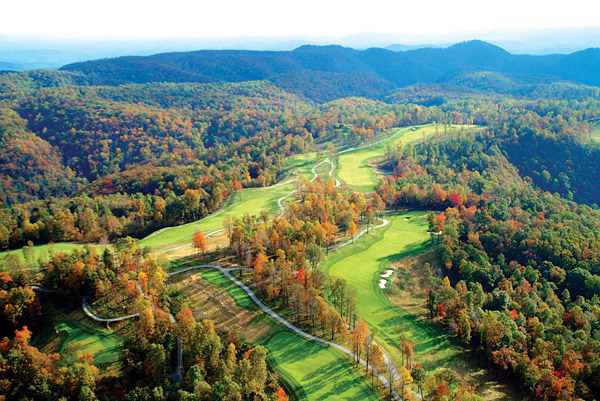 No. 44                           The Highland Course at Primland                                                      English writer-turned-architect Donald Steel has crafted an enviable slate of layouts for the moneyed set, including Scotland's Skibo Castle, Canada's Red Tail and The Abaco Club in the Bahamas. This aptly named layout is his first publicly accessible design in the U.S. The course is perched on the edge of the Dan River Gorge, but the pristine scenery is only half the fun. The firm, fast track is replete with ridge-top tees, hilly lies and deep, low-key British-style bunkers, and the blend of forced carries and an emphasis on the ground game make for a superb test.
