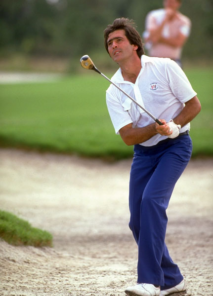 "Seve Ballesteros                                              He was the heart, soul and engine of the European team. My one Ryder Cup was at the Ocean Course at Kiawah Island, in 1991. We had a sh__tty team. Sure, Nick Faldo and Bernhard Langer played for us, but so did ... Steve Richardson! And me! Seve made you better by sheer force of his personality.                                              I played Payne Stewart in Sunday singles, and before the match Seve took me aside. ""They put you out early because they think you will lose,"" he said, then grabbed me by my shirt and chest hair and pulled me close. ""But I know you have this heart."" I got chills. I thought, ""Wow! He believes                       I can win--and so do I.""  I went out and beat the reigning U.S. Open champion, 2 and 1. It's funny--at Kiawah, I thought Seve looked physically smaller than he did on TV. I've realized that's because he made me feel 10-feet tall."