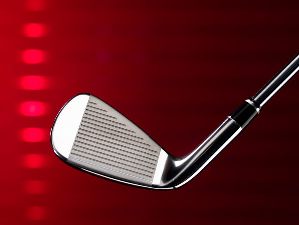 SHAFT LENGTH                           A 5/8-inch spacing between clubs rather than the standard 1/2-inch spacing helps slower swingers achieve proper distance gaps.