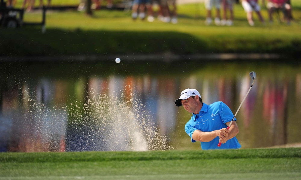 Sergio Garcia fired a five-under 67 to move into contention for the weekend.