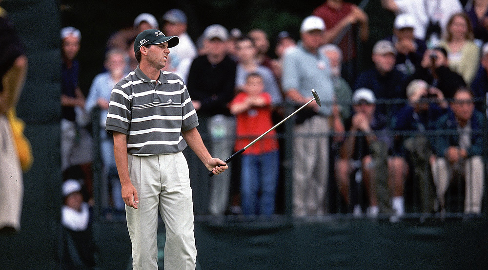 Despite being heckled for his repeated waggles, Sergio Garcia finished fourth.