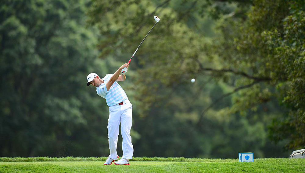 Sergio Garcia won last week's event in Greensboro, and he's back in contention this week. Garcia leads by two heading into the final round.