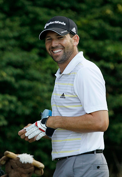 Sergio Garcia is 15h in the FedEx standings entering this week.