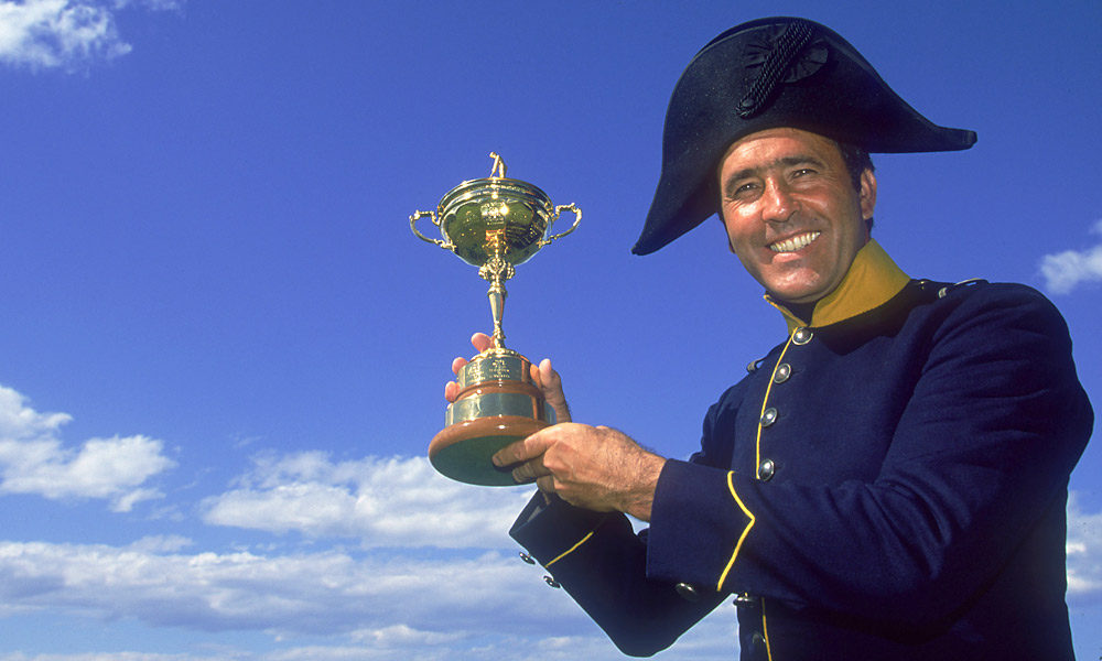 Seve Ballesteros, Ryder Cup Record: 21-15-6                           The great Seve had 20 wins in only eight Ryder Cups, and he's tied for fourth on the Euro points list with 22.5.