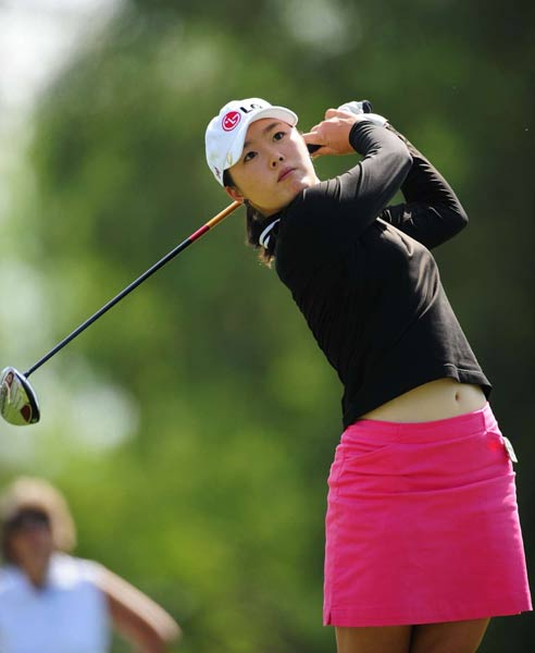 "Angela Park                       Height: 5'5""                       Birthplace: Brazil                       Best finish: T2 at U.S. Women's Open (2007)                                              If Park's performance in her first year on Tour was any indication, the 2007 Rookie of the Year has a great career ahead of her."