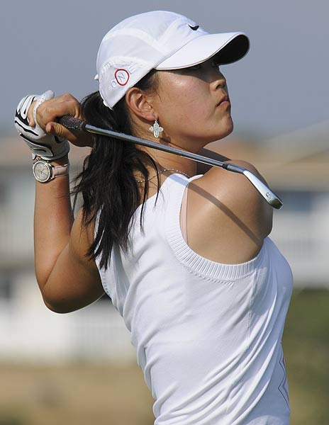 "Michelle Wie                       Height: 6'1""                       Birthplace: Honolulu, Hawaii                                              Okay, so she doesn't technically have her LPGA Tour card, yet. But she's finally turned 18, has played in 13 events against the men and has withdrawn from Stanford University to focus on golf full time. It's only a matter of time before she starts making waves on the LPGA Tour."