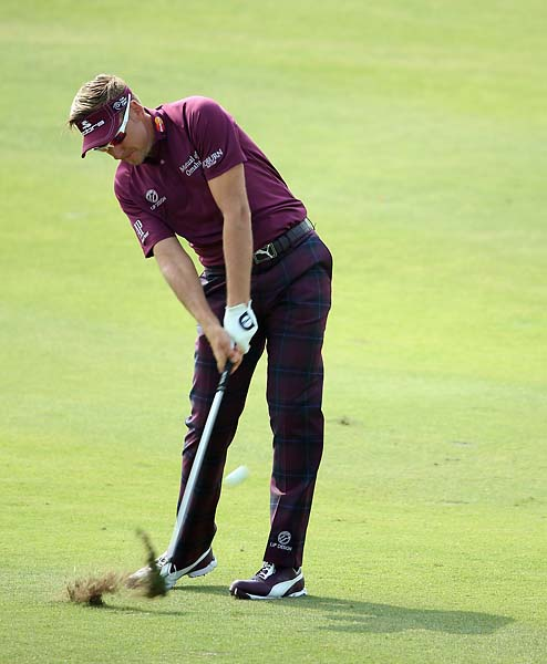 "After the tournament, Ian Poulter tweeted: ""I've managed to drop 9 shots in the last 3 holes this week. Thrown the tournament away. Franky played great today. Big things will happen."" Poults finished T15."