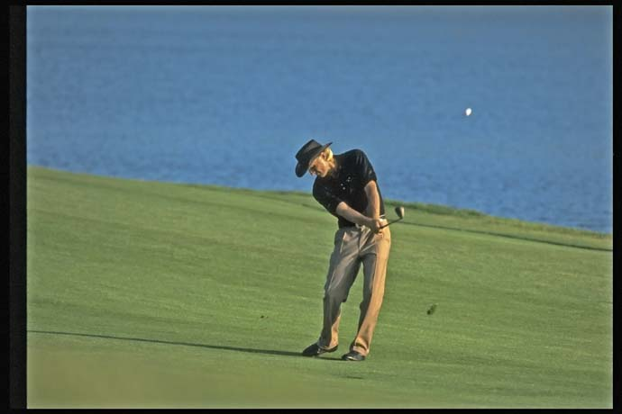 Greg Norman at the 1993 Players Championship.