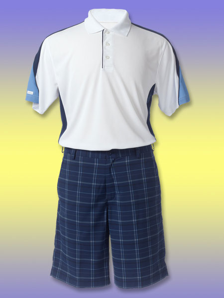 Be Cool                           When the temperature is higher than your score, you need apparel that will keep you moving—not melting                           Fresh incarnations of your favorite moisture-wicking materials are available in everything from shirts to shoes. These selections will keep you cool, dry and cling-free on the course.                                                                                 Tehama Albatross Colorblock Polo shirt                           $64; tehamainc.com                           This lightweight polo from the Hang 'em Dry collection features antimicrobial technology (to inhibit bacteria growth after frequent washings), an aerated back collar for increased ventilation and UPF 30+ protection from the sun.                                                      Nike Dri-FIT Plaid shorts                           $65; nikegolf.com                                                      These lightweight shorts made from Nike's Dri-FIT fabric keep moisture away from your legs. The fabric is also textured to prevent clinging. One more benefit: There's no need to iron. Just wash them and then hang or tumble dry.