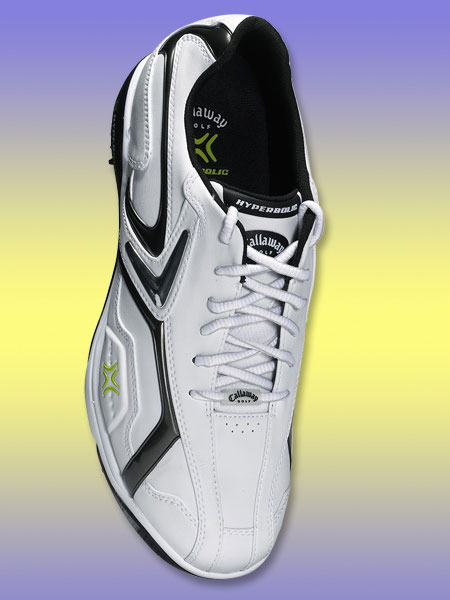 "Callaway X Series Hyperbolic                           $180; callawaygolf.com                           Callaway's innovative ""Outlast technology"" helps regulate the temperature in your shoe through the use of a ""phase change"" material that absorbs and releases excess body heat as necessary."