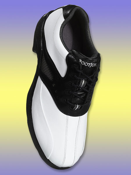 FootJoy SuperLite                       $80; footjoy.com                       The ultra-lightweight EVA (ethyl vinyl acetate) outsole ensures that these shoes won't weigh you down, while the soft, waterproof leather upper helps provide breathability and comfort.