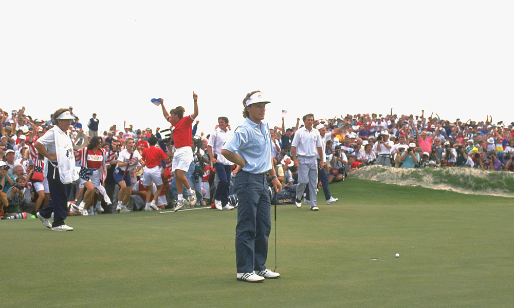 1991 Ryder Cup at Kiawah Island's Ocean Course: U.S. wins 14.5-13.5