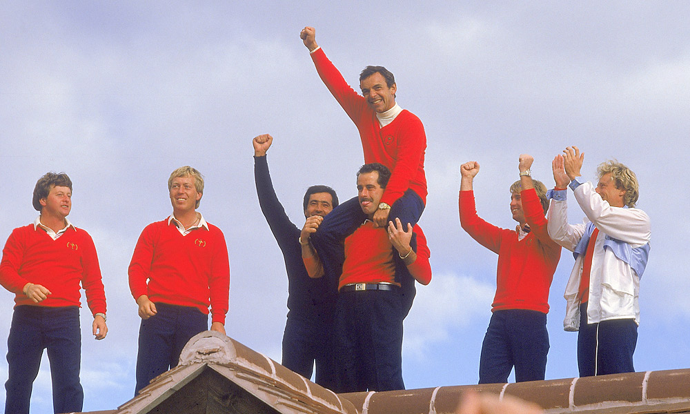 1985 Ryder Cup at The Belfry: Europe wins 16.5-11.5