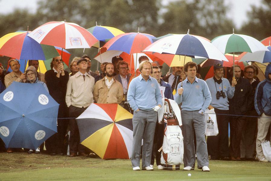 1981 Ryder Cup at Walton Health: U.S. wins 18.5-9.5