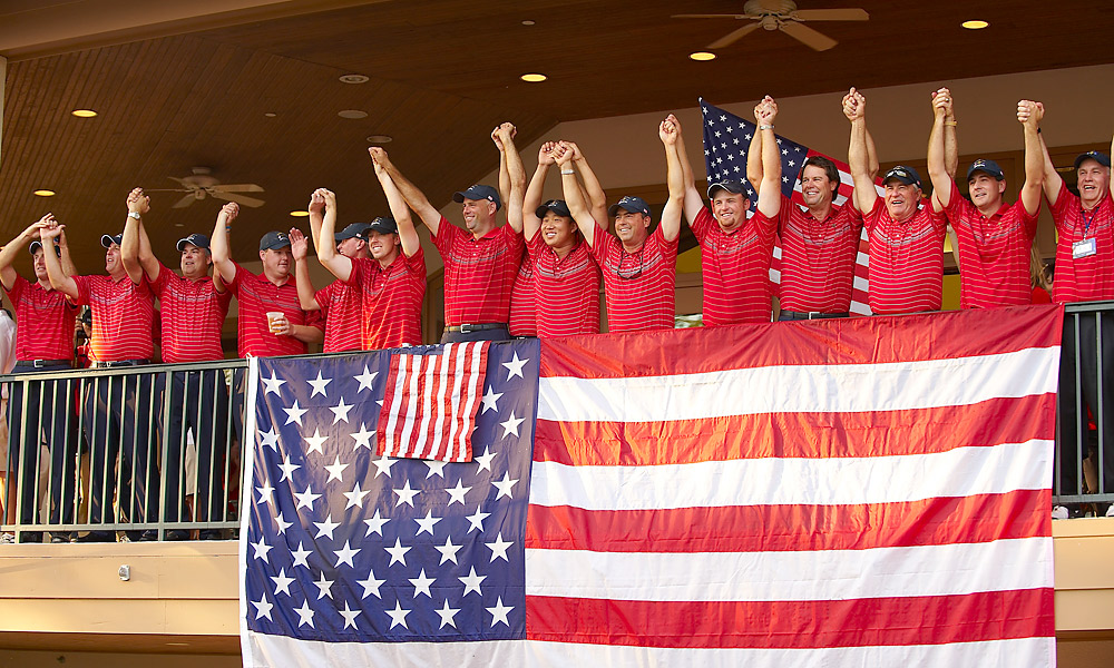 2008 Ryder Cup at Valhalla Golf Club: U.S. wins 16.5-11.5