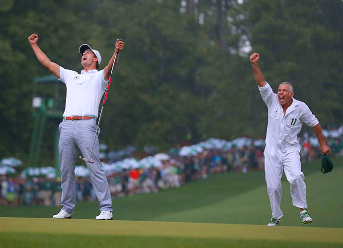 PUTT OF THE YEAR                       Adam Scott's 12-footer on the second playoff hole to defeat Angel Cabrera and win the Masters. No Aussie had ever won at Augusta, and the 10th hole, the site of the winning putt, had been notoriously unkind to Adam's countryman Greg Norman.