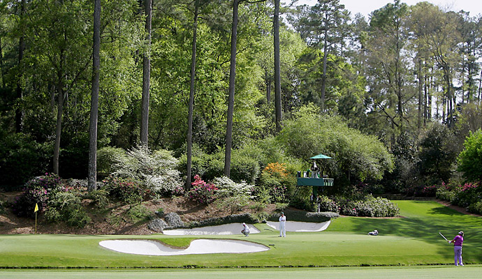 "2006: ""Amen Corner Live"" shows players tackling holes 11–13 live on Masters.com and CBS. sportsline.com. It is the first multi-hole webcast from a major championship."