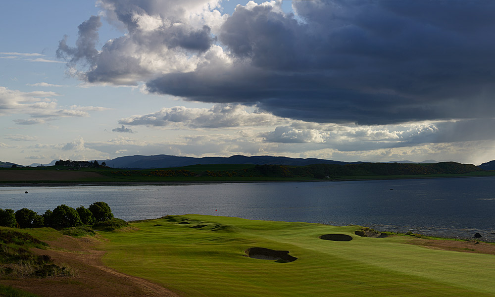 "Castle Stuart Golf Links 3rd (par 4, 266 yards)                       LOCAL KNOWLEDGE: ""If it is calm or downwind, I always try and drive the third. I think that is one of the most fun shots in golf. I always try to err a bit left and chance getting up and down for birdie. If it is into the wind I will hit a hybrid or mid-iron short of the bunker."" - Gil Hanse, co-designer, Castle Stuart"
