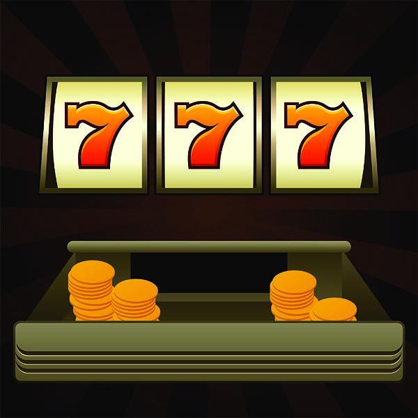 Slot-Machine Start noun Beginning your round 7-7-7