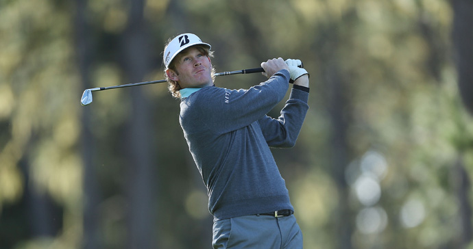 Brandt Snedeker shot a bogey-free 68 to grab a share of the lead with Ted Potter Jr.
