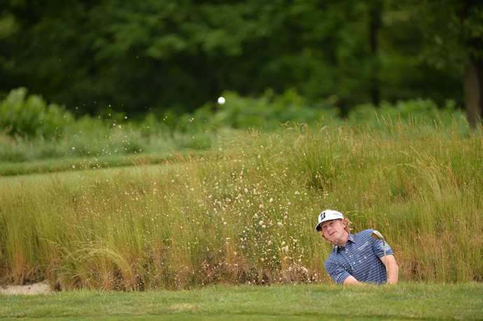 Brandt Snedeker opened with a four-over 74.