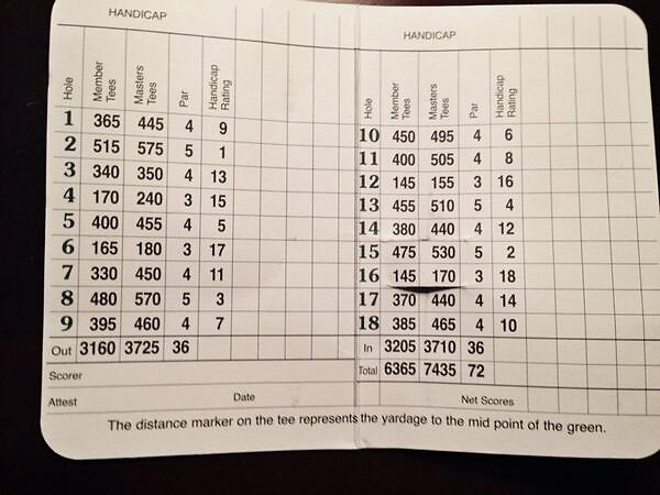 @eamonlynchIf you're curious about what yardage the members tees play at Augusta National, here's the scorecard.
