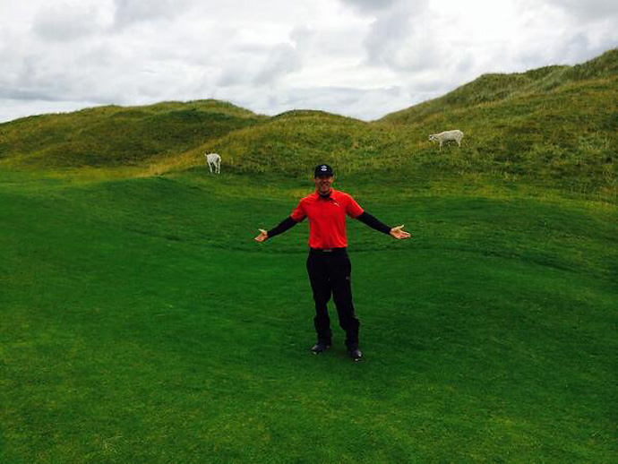 @GrahamDeLaet                             Had a nice gallery at Lahinch today.