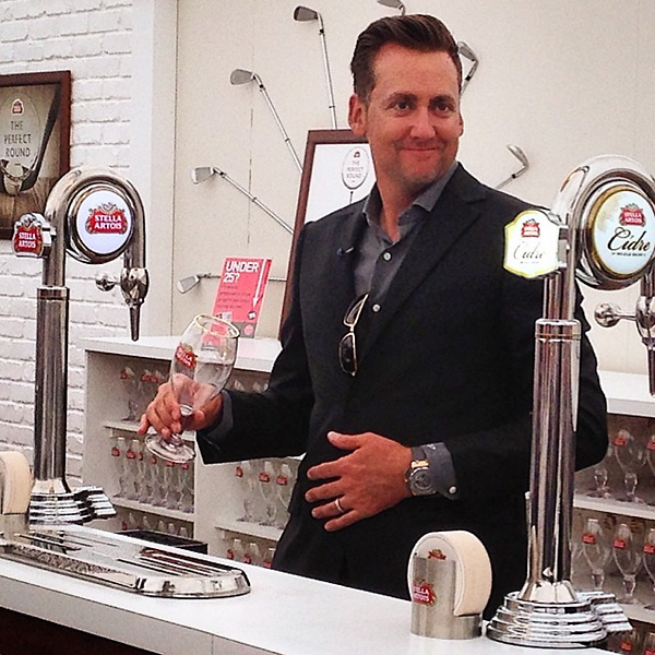 @ianjamespoulter Poured the perfect chalice of #StellaArtois this afternoon. And couldn't resist having a one.