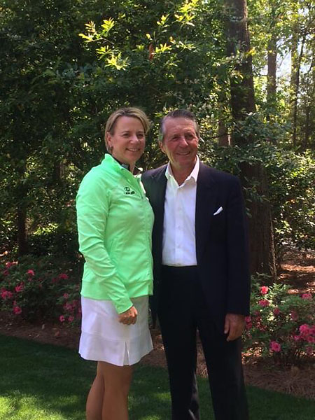 @garyplayer                        Always wonderful to see you and Mike, @ANNIKA59. One of the greatest ambassadors of the game. All my best.