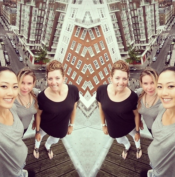 @TheMichelleWie                       Peaceful London rooftop mornin✌ #regroup #recharge #magurls @jamiekuhn @hallyleadbetter