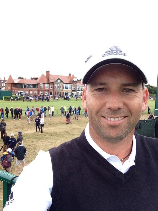 @TheSergioGarcia                           All ready for a great week @The_Open love it!! Let's hope for some nice weather so we can all enjoy it!