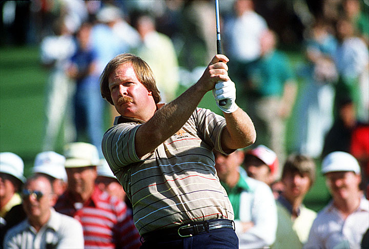 Despite leading by six strokes with nine holes left at the 1982 Masters, Craig Stadler needed a playoff to win his lone major title.